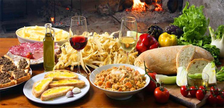 jak stać się bardziej włoskim przy stole
