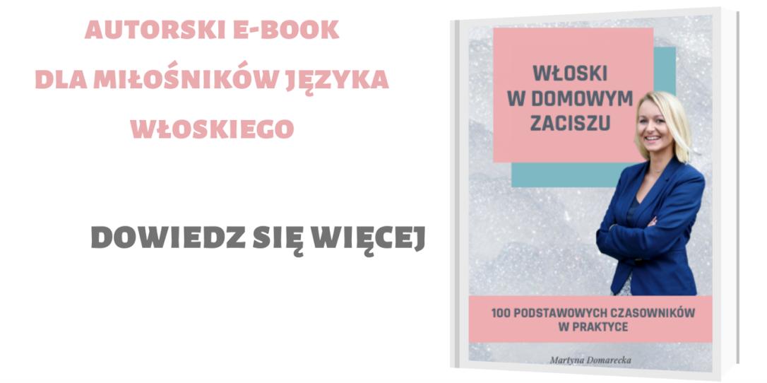 E-book włoski do nauki języka